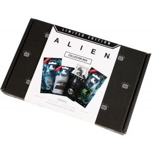 boite cadeau noire alien