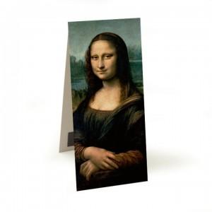 La Joconde - Marque page magnétique - Mona Lisa