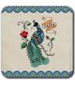 Frida Kahlo - Dessous de plat - Paon