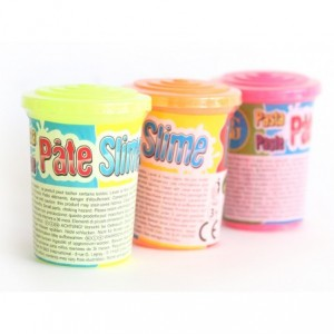 Pâte Slime Fluo 80Grs