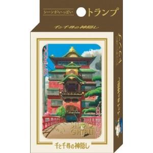 Le Voyage de Chihiro - Ghibli Studio - Jeu de 54 Cartes à Jouer