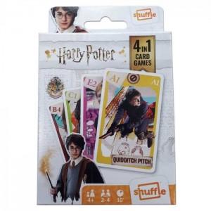 Harry Potter - Jeu de Cartes - 4 jeux en 1