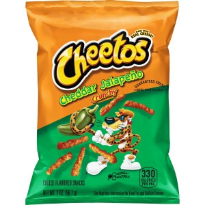 Cheetos crunchy Jalapeno cheddar - Snack - Produit Américain