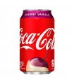 Soda Coca Cola - Cherry Vanilla (Vanille Cerise) 355ml - Produit Américain