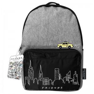 Friends New York Horizon et Taxi Jeans Sac à Dos Cartable École