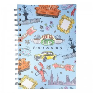 Friends - Carnet de Notes A5 - Central Perk - Façon Aquarelle