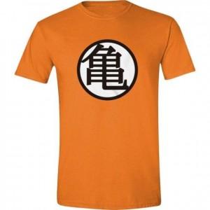 Dragon-Ball Z - Tshirt orange avec Logo