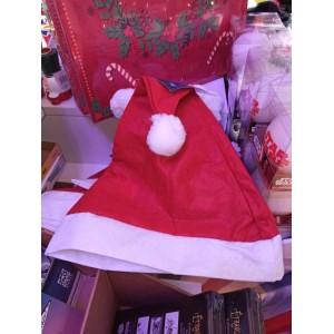 Bonnet de Père Noël - Feutrine - Taille Adulte