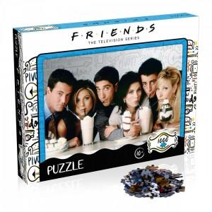 FRIENDS - Milkshake - Puzzle - 1000 pièces