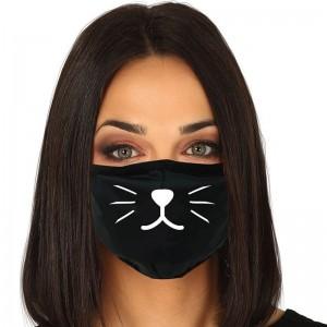 Masque hygiénique - Chat