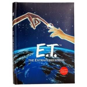 E.T. L'Extraterrestre - Notebook avec Couverture Lumière
