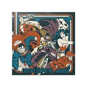 DC COMICS - Justice League Of America - Calendrier 2021