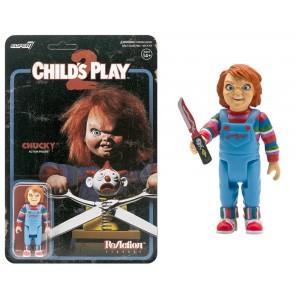 chucky - Jeu d'enfant - figurine - 8 Cm - Super7 - Reaction