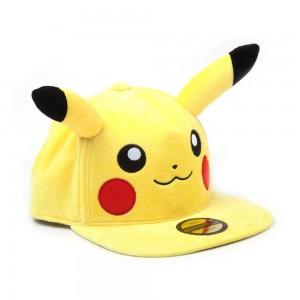 Pokémon - Pikachu Peluche - Casquette