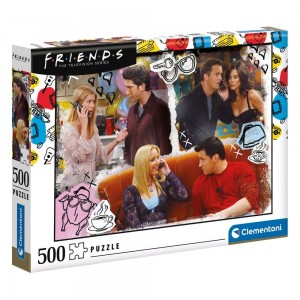 FRIENDS - ON THE PHONE - PUZZLE 500P