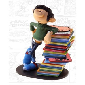 Gaston Lagaffe - Figurine de collection - Gaston Pile d'albums