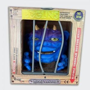 Boglins Réédition 2021- King Vlobb - Golden Horned - Version Dorée - Tri Action Toys - Série 2
