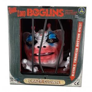 Boglins Crazy Clown - Réédition 2021 - Halloween - Tri Action Toys - Marionnette - Série 4