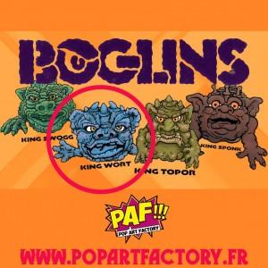 Boglins : First Edition - King Wort - Réédition 2021 - Tri Action