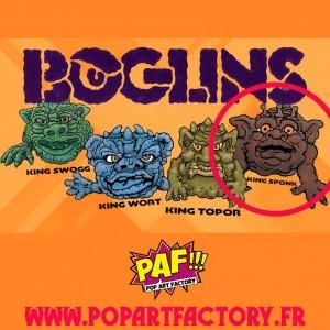 Boglins : First Edition - King Sponk - Réédition 2021 - Tri Action