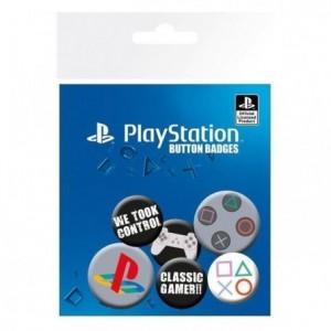 Playstation - 6 Bagdes - PSONE