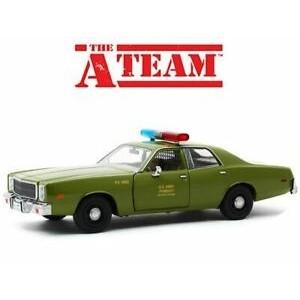 L'Agence Tous Risques - Voiture - 1977 Plymouth Fury - Échelle 1/24