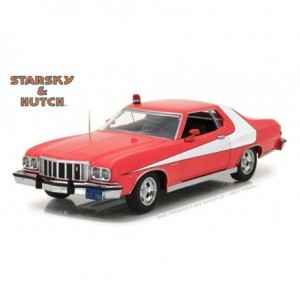 Starsky  and Hutch  - Voiture - 1976 Ford Gran Torino - Échelle 1/24 - Édition limitée