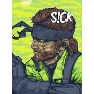 Magazine S!ck (Sick) - Metal Gear Solid - Akira - Gremlins Gizmo - Gremlins Stripe