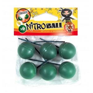 Pétards - 6 Nitroballs - Le tigre
