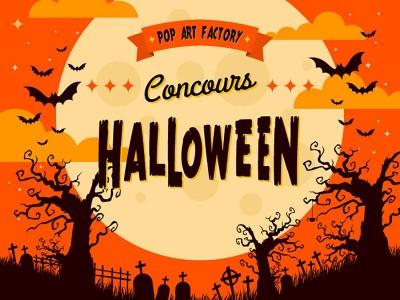 Le concours d'Halloween !