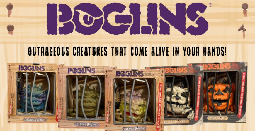 Le retour des Boglins-  - Marionnette - Tri Action Toys ! MARS 2021